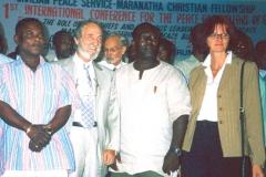 In Ghana alla Prima Conferenza Internazionale per la Pace ed il Benessere