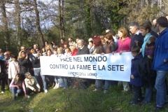 MARCIA PER LA PACE NEL MONDO CONTRO LA FAME E LA SETE 2007