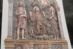 Arte a Sargiano: San Francesco riceve le stimmate
