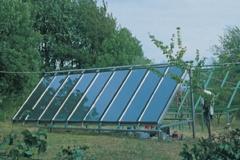 Utilizzo di energie alternative: pannelli solari