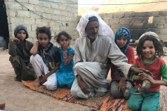 Pozzi e Villaggi nel Sinai: una famiglia