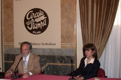 Conferenza al Circolo della Stampa, Milano (1998)