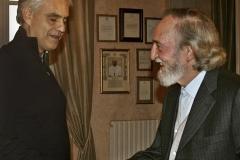Consegna del Premio Arte Scienza e Pace ad Andrea Bocelli