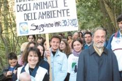 MARCIA PER LA TUTELA DEGLI ANIMALI E DELL'AMBIENTE 2002