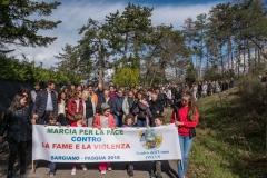 MARCIA PER LA PACE CONTRO LA FAME E LA VIOLENZA 2018